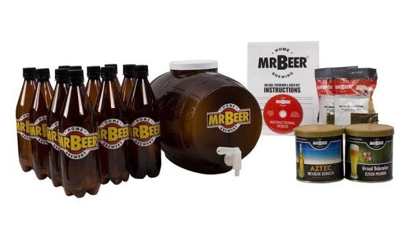 mr. beer premium gold edition kit