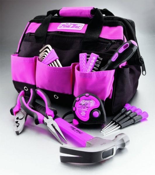 original pink box tool bag