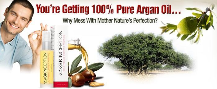 100 pure argan oil