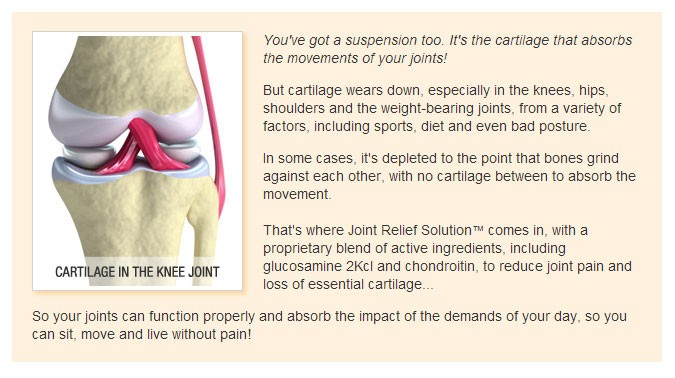 Designed To Strengthen Your Cartilage