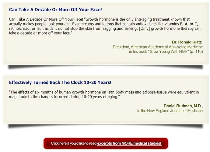 GenFX Human Growth Hormone Supplements