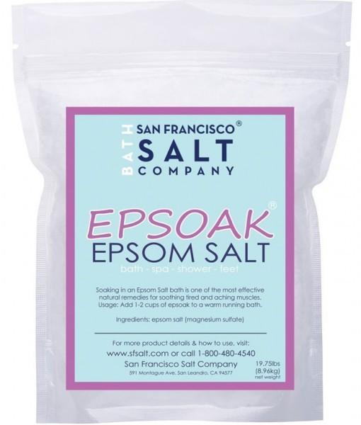 Review Epsoak-Epsom Salt 19.75 Lbs