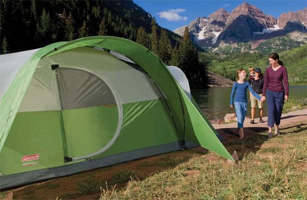 coleman montana 8 person tent