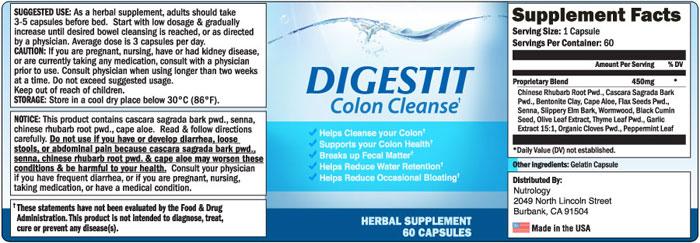 digestit colon cleanse