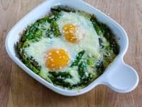 Egg Bake with Asparagus